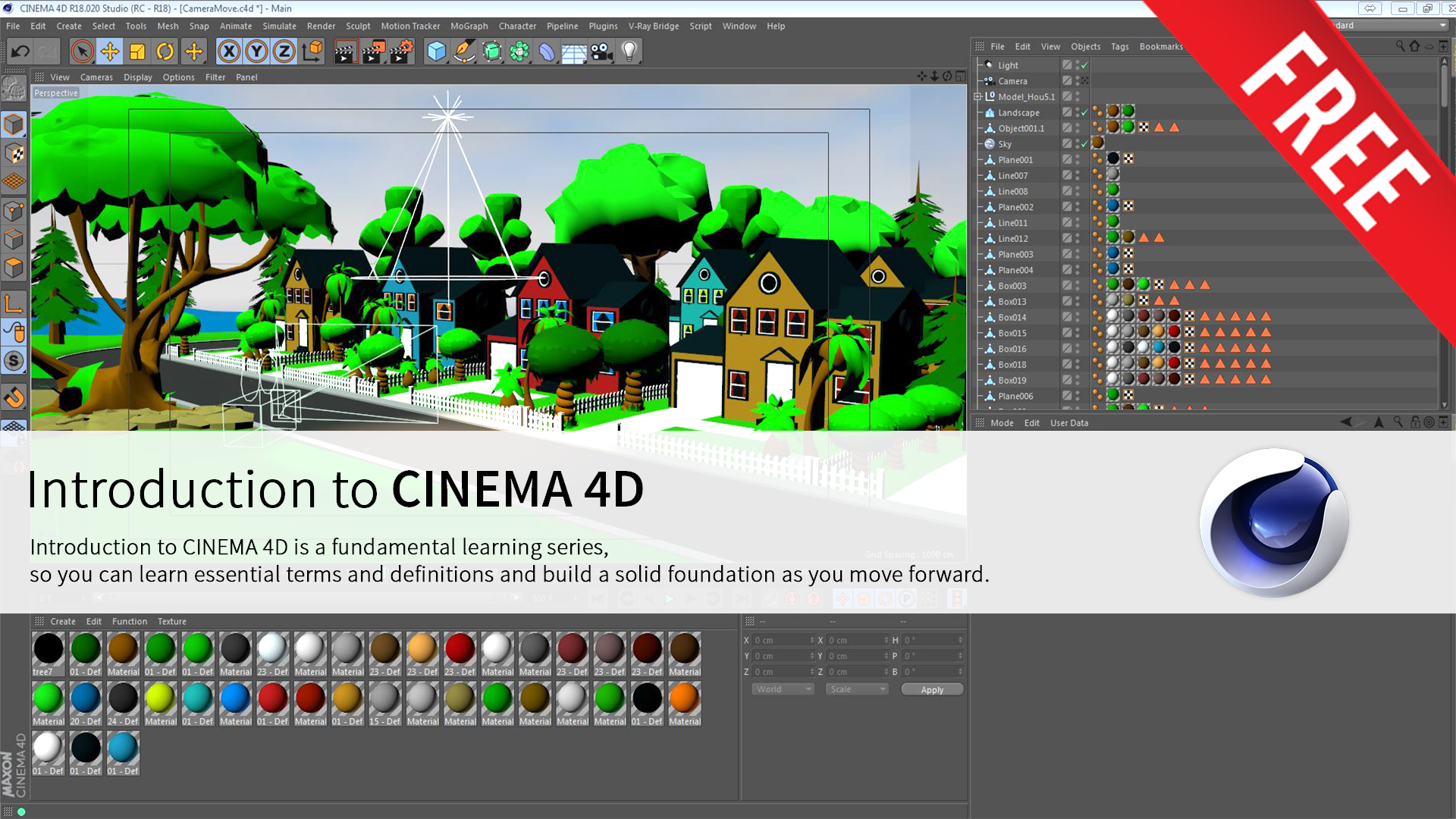 INTRODUCTION TO CINEMA4D – Maqsad Animation School